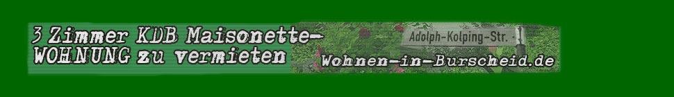 Wohnen in Burscheid.de  Bergisches Land LEBEN ARBEITEN UND GENIESSEN header image 1